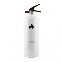 Brandsläckare Design 13A, 2 kg vit
