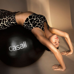 Gym ball 60-65 cm black