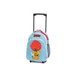 Bamse resväska på hjul