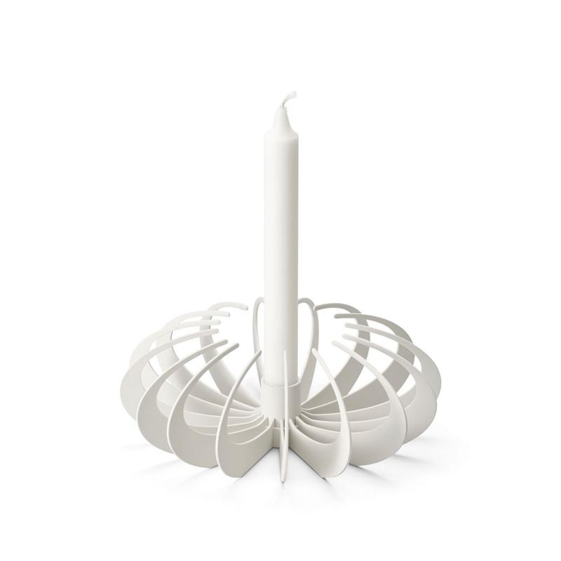 Shadow Candleholder White
