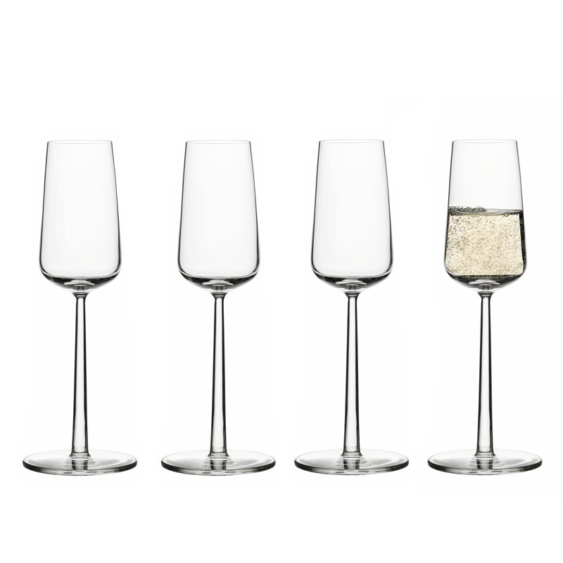 Essence champagneglas 4-pack