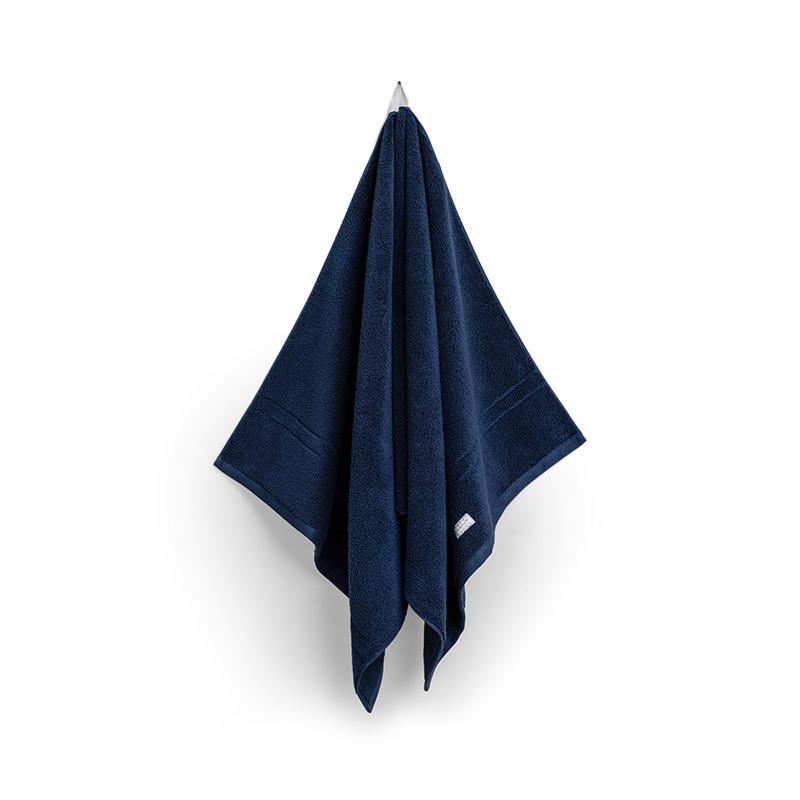 Organic Premium duschhandduk yankee blue