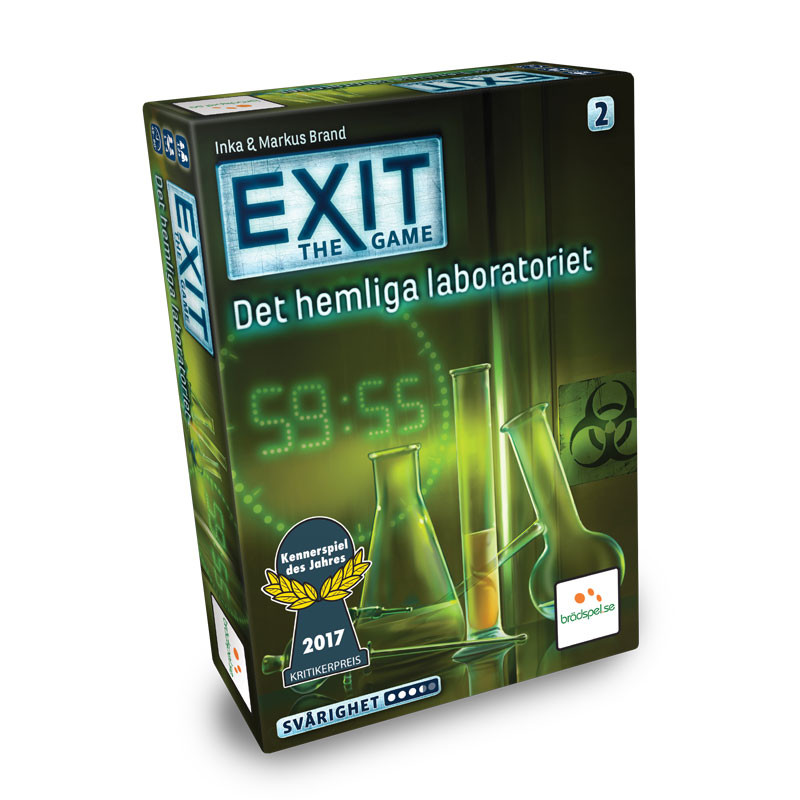 EXIT: Det Hemliga Laboratoriet (SE)