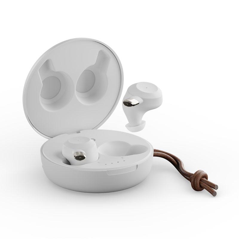 FEM hörlurar, vit