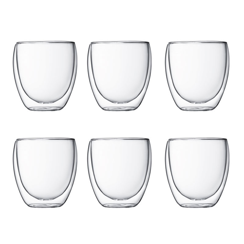Pavina dubbelväggade glas, 25 cl