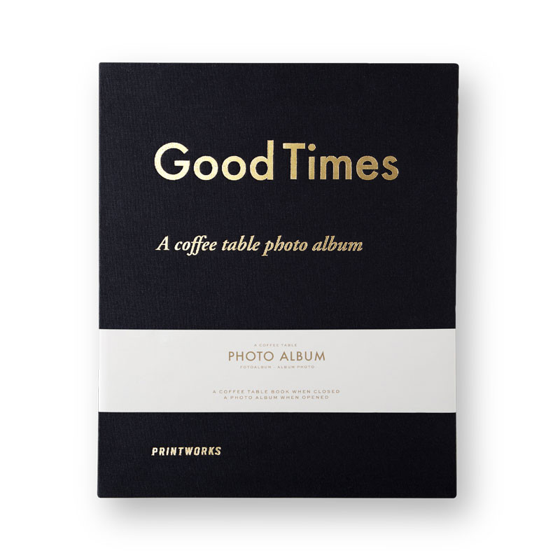 Photo Album - Good Times Black (L)