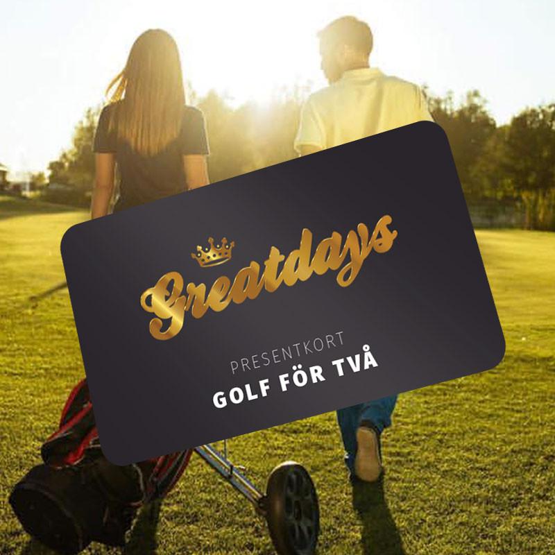 Greatdays golf för två