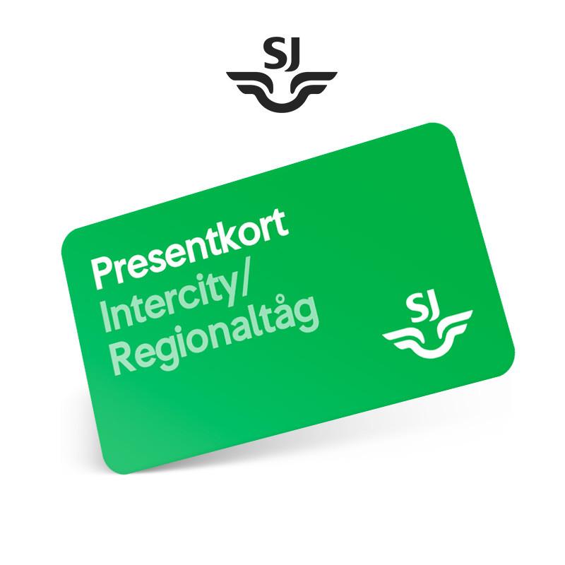 SJ Fribiljett Intercity/Regionaltåg