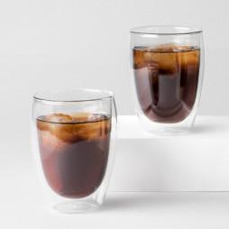 Pavina glass med doble vegg 6 stk