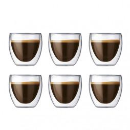 Pavina espressoglass 6-pakning