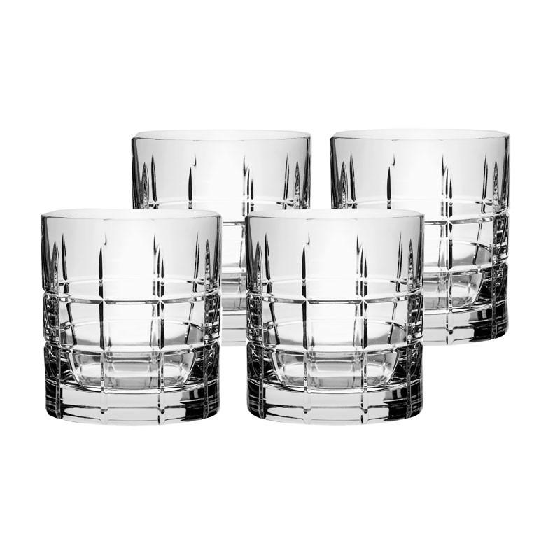 Street Old Fashion whiskeyglass 4-pakk