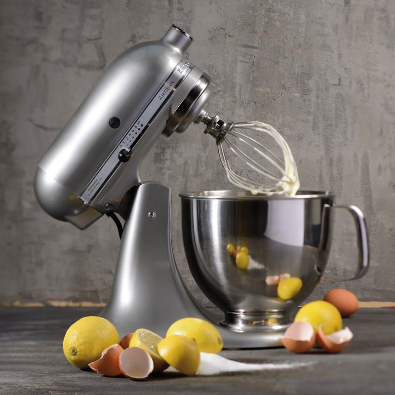 Artisan kjøkkenmaskin silver