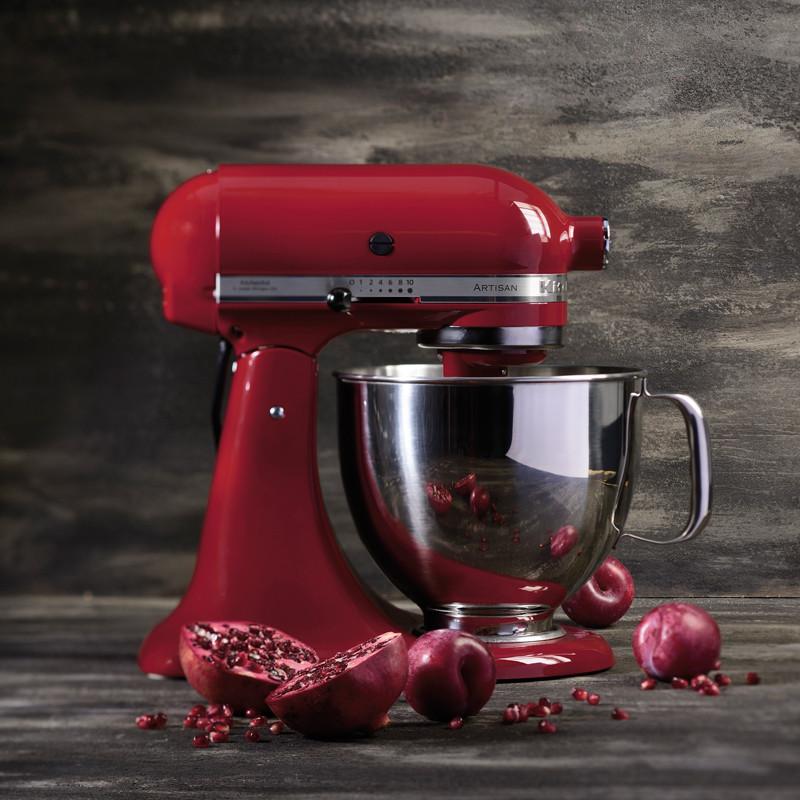 Artisan kjøkkenmaskin rød