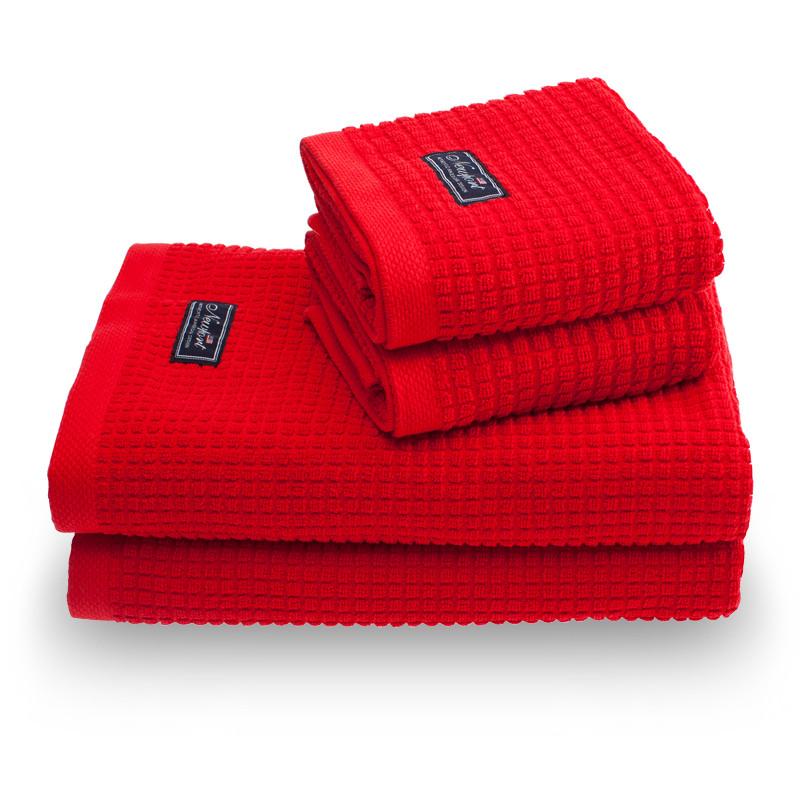 Håndklær Fisher Island rød