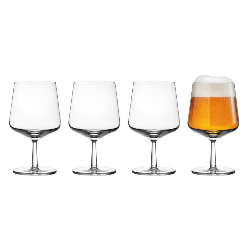 Essence ølglass 4-pakk