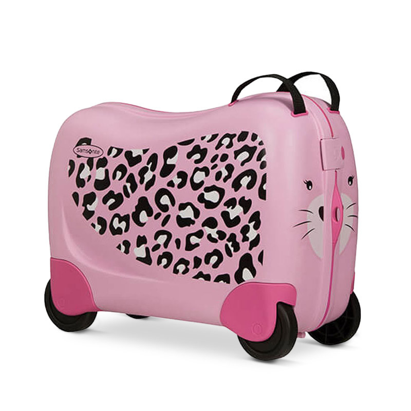 Dream Rider koffert leopard