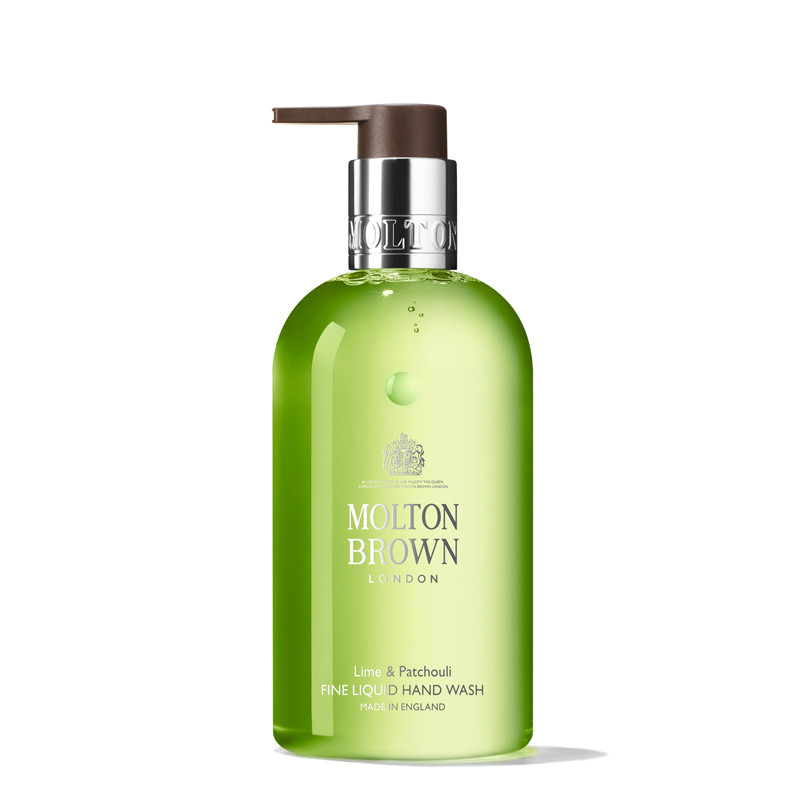 Hand Wash, Lime & Patchouli Fine Liquid