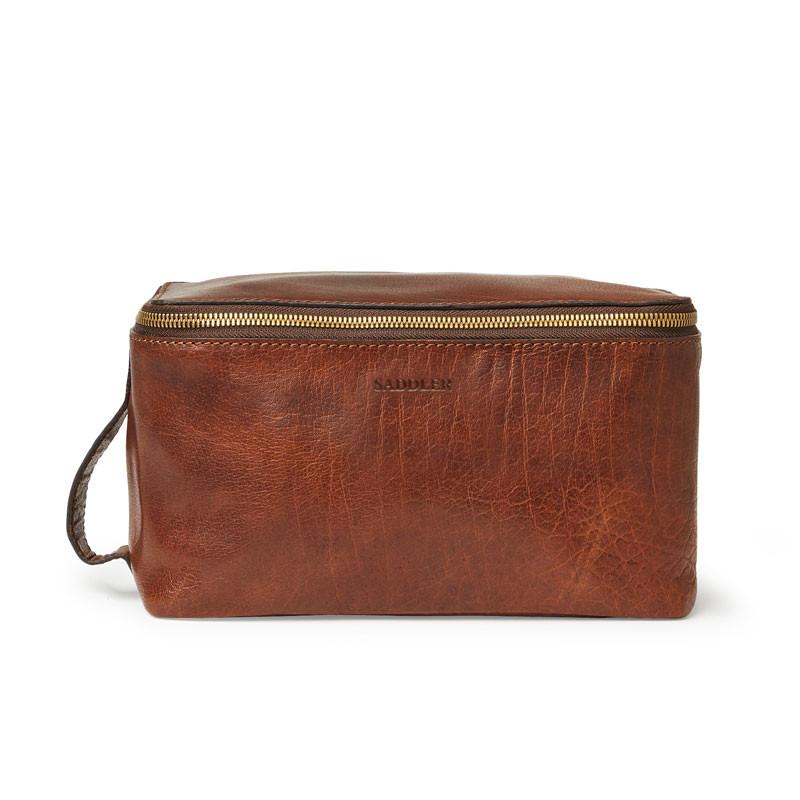 Barolo toiletry bag brun