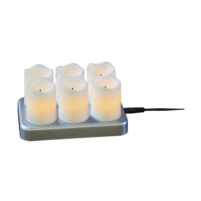 LED Ljus 6-Pack Chargeme