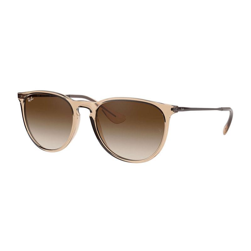 Solbriller Erika Shiny Transparent Brown