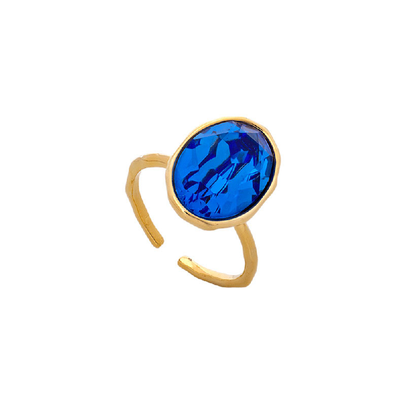 Astrid Sapphire Oval Ring