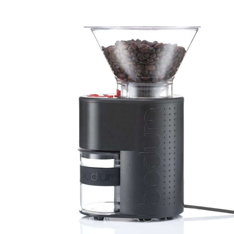 Bistro Elektrisk Kaffekvarn, Svart
